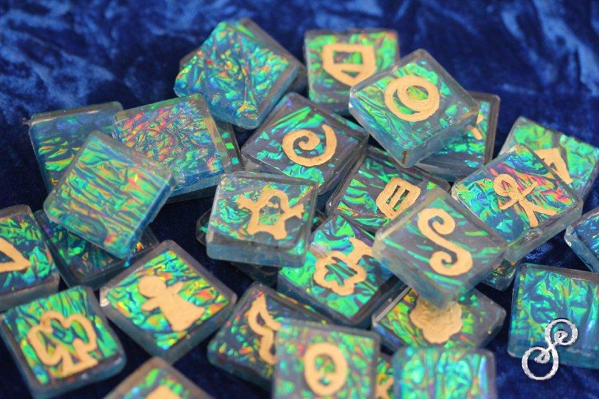 Energy Symbols Shimmer
