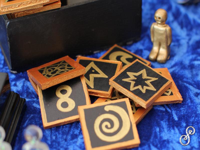 old energy symbol set